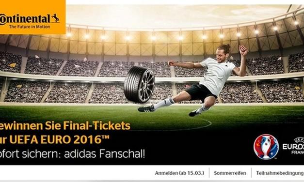 Mit Continental zur UEFA EURO 2016™ in Frankreich
